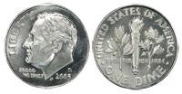 2005 Mint Dime Set