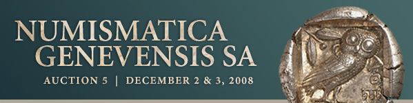 Numismatica Genevensis SA Auction 5 Gallery - December 2 and 3, 2008