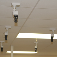 NGC's receiving department uses security cameras