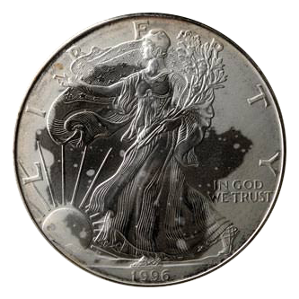 These White Spots Can Sometimes Develop On A Variety Of Modern Silver Bullion Coins From Around The World Including American Eagles Chinese